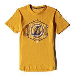 Camiseta Los Angeles Lakers (Amarelo)