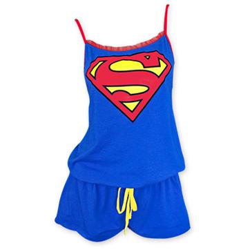 Pijama Superman de mulher Original  Compra Online em Oferta 607f14881f6