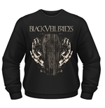 Camiseta manga longa Black Veil Brides Deaths Grip