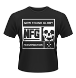Camiseta New Found Glory Blocked
