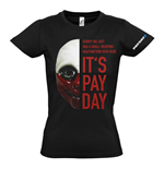 Camiseta PAYDAY 2 Wolf Mask - de mulher - M