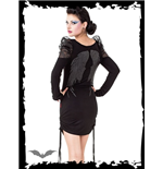 Vestido Queen of Darkness 138820