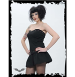 Vestido Queen of Darkness 138856