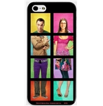 Capa iPhone Big Bang Theory - Sheldon e Bernadette