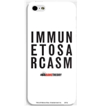 Capa iPhone Big Bang Theory - Immune to Sarcasm