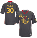 Camiseta adidas Stephen Curry Golden State Warriors Slate Chinese New Year New Swingman