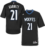 Camiseta Kevin Garnett Minnesota Timberwolves Lights Out Swingman