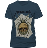 Camiseta Metallica Spider