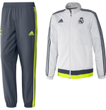 Conjunto esportivo Real Madrid 2015-2016 (Branco)