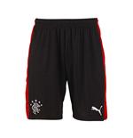 Shorts Rangers f.c. 2015-2016 Away (Preto)