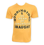 Camiseta Boddingtons Yellow Draught Beer de homem