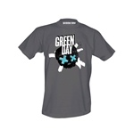 Camiseta Green Day Crosssed Skull