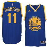 Camiseta Klay Thompson Golden State Warriors adidas Royal Blue New Swingman Road