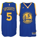Camiseta Golden State Warriors Marreese Speights adidas Royal Blue New Swingman Road