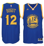 Camiseta Golden State Warriors Andrew Bogut adidas Royal Blue New Swingman