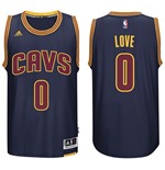 Camiseta Cleveland Cavaliers Kevin Love adidas Navy Blue New Swingman