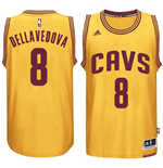 Camiseta Cleveland Cavaliers Matthew Dellavedova adidas Gold New Swingman Alternate