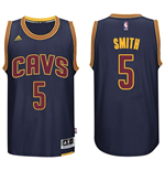 Camiseta  Cleveland Cavaliers J. R. Smith adidas Navy Blue New Swingman
