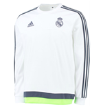 Camiseta manga longa Real Madrid 2015-2016 (Branco)