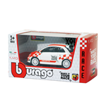 Maquete Abarth Bburago - Abarth 500 Make It Your Race 1:43