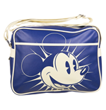 Bolsa Messenger Retro Disney - Mickey Azul