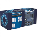 Doctor Who Pack de 2 Mini Xícaras