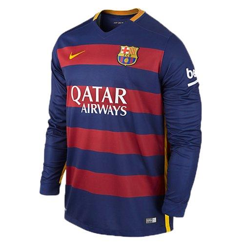 1c21428634b92 Camiseta Barcelona 2015-2016 Home Original  Compra Online em Oferta