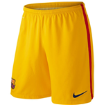 Shorts Barcelona 2015-2016 Home (Ouro)