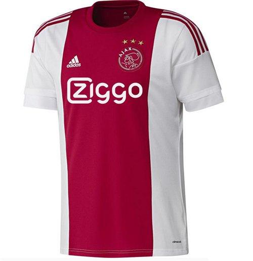 b2aea543c584c Camiseta Ajax 2015-2016 Home Original  Compra Online em Oferta
