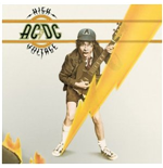 Vinil Ac/Dc - High Voltage