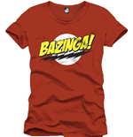 Camiseta Big Bang Theory - BAZINGA!