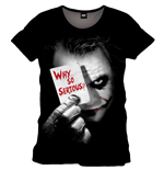 Camiseta Batman The Dark Knight - Why So SERIOUS?