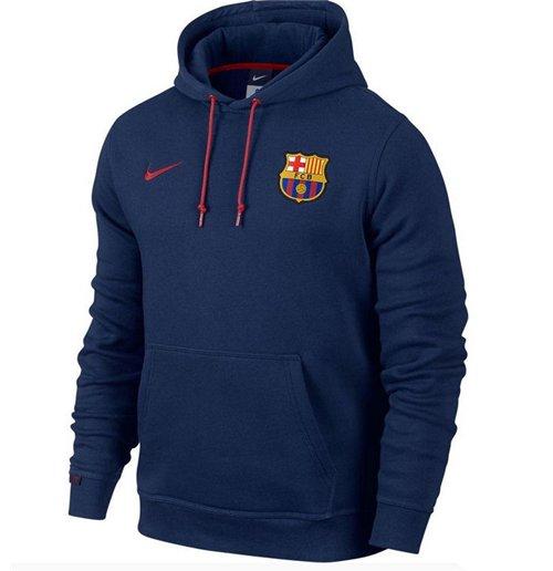 a2348a53842ee Compra Moletom FC Barcelona 2015-2016 Nike Core (Azul escuro)