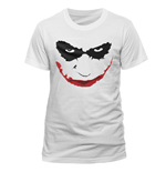 Camiseta Batman The Dark Knight - Joker Smile Outline