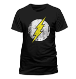 Camiseta Flash - Distressed Logo
