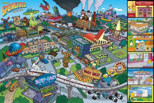 Poster Os Simpsons 149500
