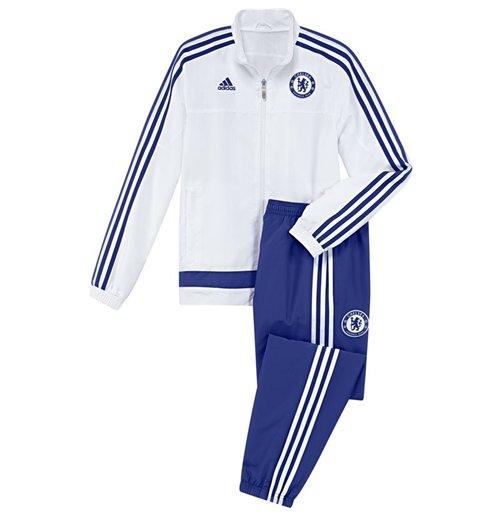 87a9736c57bd4 Compra Conjunto esportivo Chelsea 2015-2016 (Branco) Original