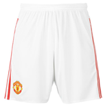 Shorts Manchester United FC 2015-2016 Home (Branco)