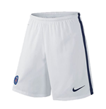 Shorts Paris Saint-Germain 2015-2016 Away (Branco)