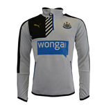 Suéter Esportivo Newcastle United 2015-2016 (Branco)