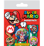 Super Mario Pack 5 Chapas