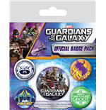 Guarda da Galaxia Pack 5 Chapas