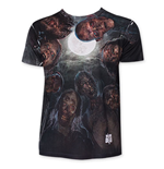 Camiseta The Walking Dead de homem