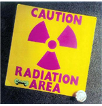 Vinil Area - Caution Radiation Area (2 Lp)