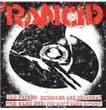 "Vinil Rancid - Old Friend/disorder & Disarray/the Wars End/you Don't Care Nothin' (7"")"
