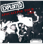 Vinil Exploited (The) - Apocalypse Tour 1981