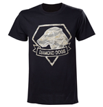Camiseta Metal Gear V Diamond Dogs Army - G