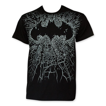 Camiseta Batman Shattered Logo