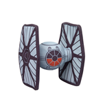 Star Wars Episode VII Veículo Pelúcia Tie Fighter 18 cm