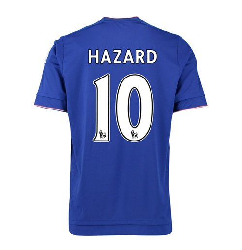 Camiseta Chelsea 2015-2016 Home (Hazard 10)